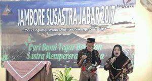 Puisi Sufiesme LK Ara Dibacakan di Jambore Susastra Bogor