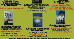 Fakultas Hukum Unsyiah Akan Launching 6 Buku Karya Dosen