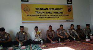 Peringati Tahun Baru Hijriyah Jajaran Polres Aceh Tengah Gelar Do'a Bersama