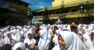 Hut Polantas Ke-62, Polantas Polres Aceh Tengah Sosialisasi Lalu Lintas Pada Siswa