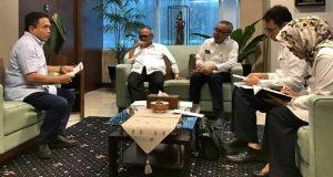 Gubernur Irwandi dan Menteri PUPR Bahas Proyek Strategis Nasional di Aceh