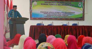 Dinkes Aceh Tengah Sosialisasikan Rumah Tunggu Kelahiran