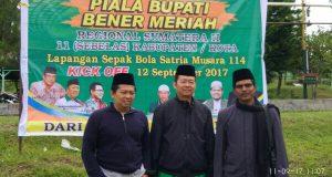 Selain Seleksi Liga Santri, LSN Regional II Sumatera Juga Rebutkan Piala Bupati Bener Meriah