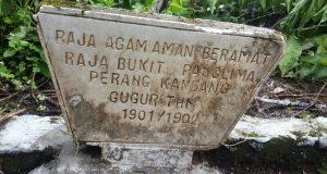 Ternyata di Tenge Besi ada Makam Suhada Saat Perang Menghadang Belanda
