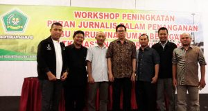 Kemenag Aceh Utus 6 Duta Ikuti Workshop Jurnalistik Nasional