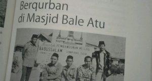 Semasa di PT KKA Jokowi juga pernah Berqurban di Bale Atu
