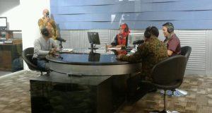 Narsum di RRI Jakarta, Bupati Ahmadi : Radio Rimba Raya Harus Dapatkan Legitimasi