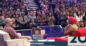 [Jum'at, 29/09/2017] Rahmah Ketiara Tampil di Kick Andy