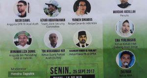 "Senin Sejumlah Tokoh Bedah Buku ""Sang Kombatan"" di Banda Aceh"