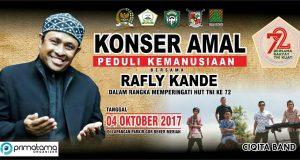 [4 Oktober 2017] Rafly Kande dan Ciqita Band Gegerkan Redelong