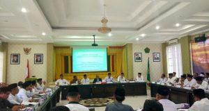 Kemenag Aceh Gelar Rapat Evaluasi Program dan Kegiatan Triwulan III
