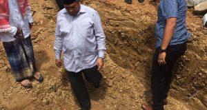 Bupati Aceh Selatan Letakkan Batu Pertama Pembangunan Masjid Jabarrahma