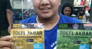 Rahmat Asri Sufa Adakan Tes TOEFL Keliling Aceh
