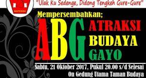 21 Oktober MAPESGA Gelar ABG di Banda Aceh