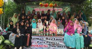 MTs Insan Qurani Borong 14 JuaraPorseni Aceh Besar