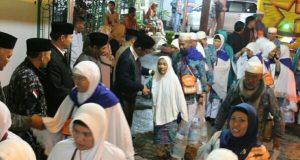 Jamaah Haji Kloter 06 BTJ Tiba di Aceh Tengah