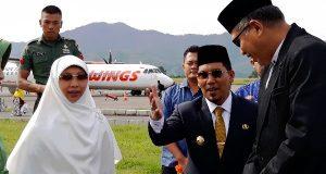 Bupati Ahmadi Sambut Wagub Aceh di Rembele