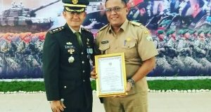 Diberi Penghargaan Tepat di HUT ke-72 TNI, ini Kata Reje Lot Kala