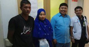 Anggota DPRK dr. Jawahir Jenguk Anak Penderita Hidrosefalus Asal Bener Meriah