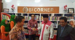 Perpustakaan BI Corner Hadir di Universitas Gajah Putih