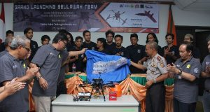Unsyiah Luncurkan Robot Terbang Cempala Kuneng