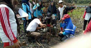 MTsN 2 Bener Meriah Tanam Pohon dan Bersihkan Sampah di Lut Kucak