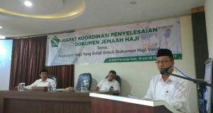 Kemenag Aceh Gelar Rapat Koordinasi Penyelesaian Dokumen Jamaah Haji