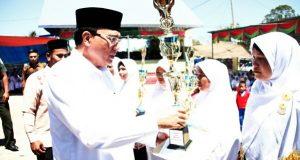 Bupati Nasaruddin Hadiri Pengajian Fuspita Kecamatan Ketol