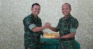 Letkol Inf Hendry Widodo Jabat Dandim 0106/AT-BM