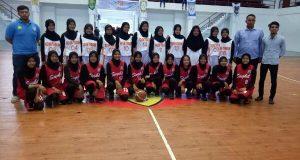 Tim Basket Putri Aceh Tengah Lolos PORA 2018