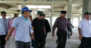 Gubernur Tinjau Tiga Proyek di Aceh Tengah