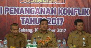 Kesbangpol Aceh Sosialisasi Regulasi Konflik Sosial