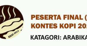 Ini Finalis Kontes Kopi Spesialti Indonesia 2017, 2 dari Gayo Bener Meriah