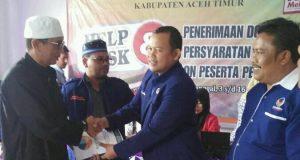 Daftar ke KIP Aceh Timur, Mat Rais : NasDem akan lebih Hebat