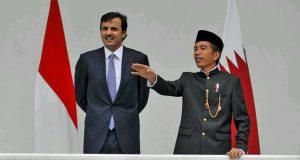 Jokowi Bangga Serahkan Oleh-oleh Kopi Gayo kepada Emir Qatar