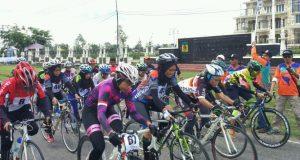 Bela Aceh Jaya, Noviana Raih 2 Emas Pra PORA Balap Sepeda
