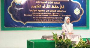 Santri Dayah Insan Qur'ani Juara I Tahfidh 5 Juz Nasional