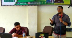 Alumni DM 1 Blang Panas Adakan Training Public Speaking
