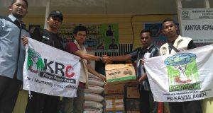 KRC KAMMI Aceh Serahkan Bantuan untuk Korban Banjir Singkil