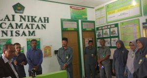 Kunjungi KUA Kecamatan Nisam, Ini Kata Kakanwil