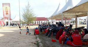 Pasukan Merah Penjaga Kebersihan Arena MTQ ke-33