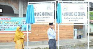 Dua Kampung KB Diresmikan di Bener Meriah