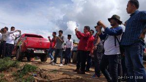 Gubernur Aceh Irwandi Yusuf Tinjau Lokasi PT THL