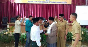 63 Reje Kampung di Bener Meriah Diberi Pembekalan Awal Masa Jabatan