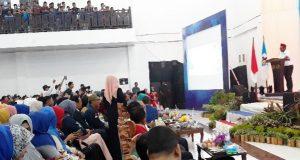 """AHY di Pidie, Bupati: Terima Kasih Telah Sampai di Kota """"Emping"""""""