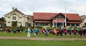 Berolahraga 30 Menit Dikampanyekan Pemkab Aceh Tengah