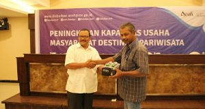 Disbudpar Aceh Gelar Bimtek Bagi Pelaku Usaha Pariwisata