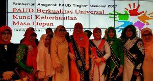 Bunda PAUD Aceh Terima Enam Anugerah Tingkat Nasional