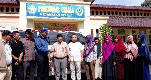 Anggota DPR Aceh Serahkan Bantuan 1 Unit Ambulance untuk Puskesmas Celala