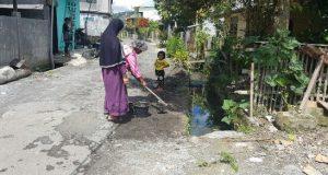 Pemerintahan Kampung Lot Kala Gelar Lomba Kebersihan Antar Warga